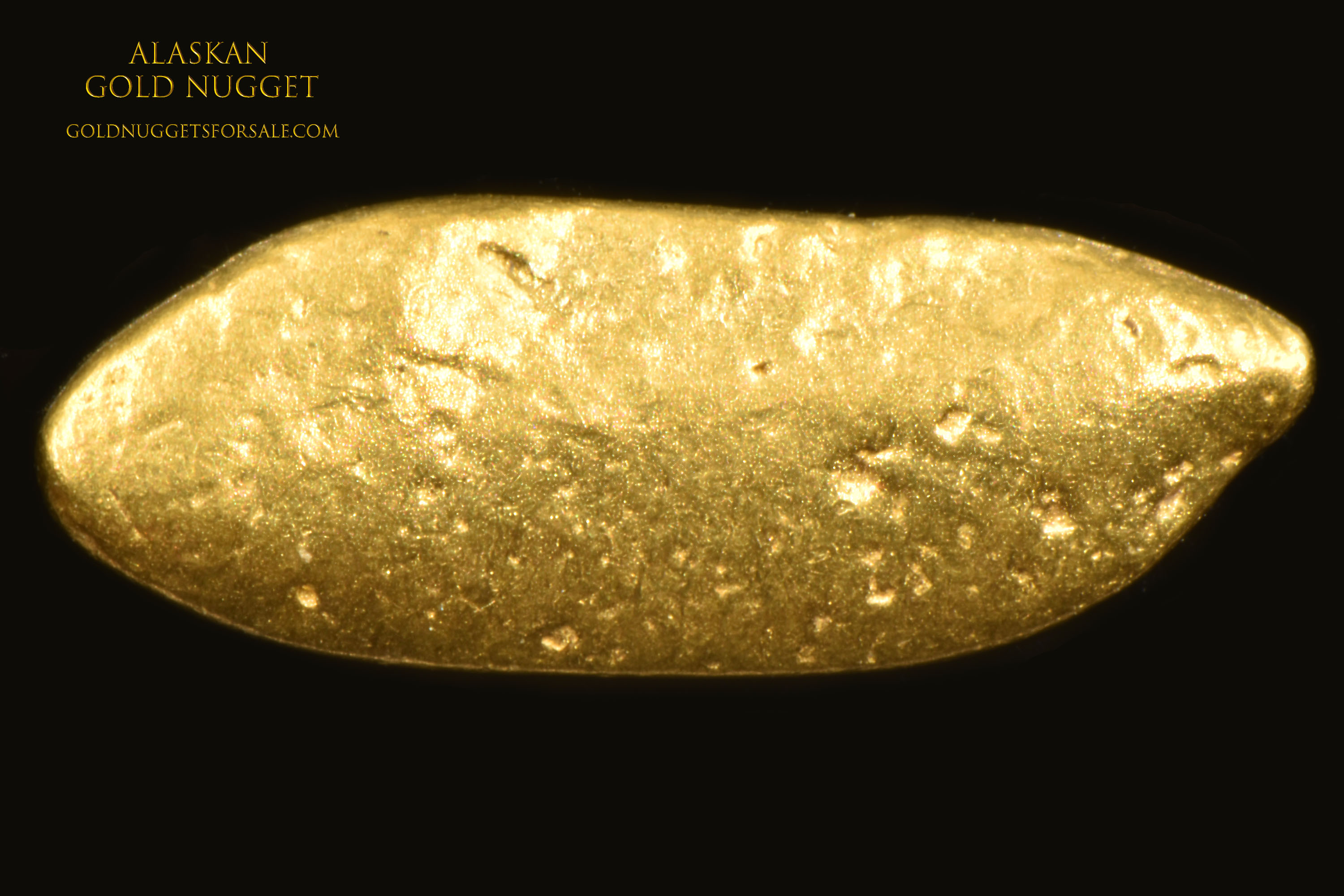 Jewelry Grade Gold Nugget From Alaska - Intricate Shape
