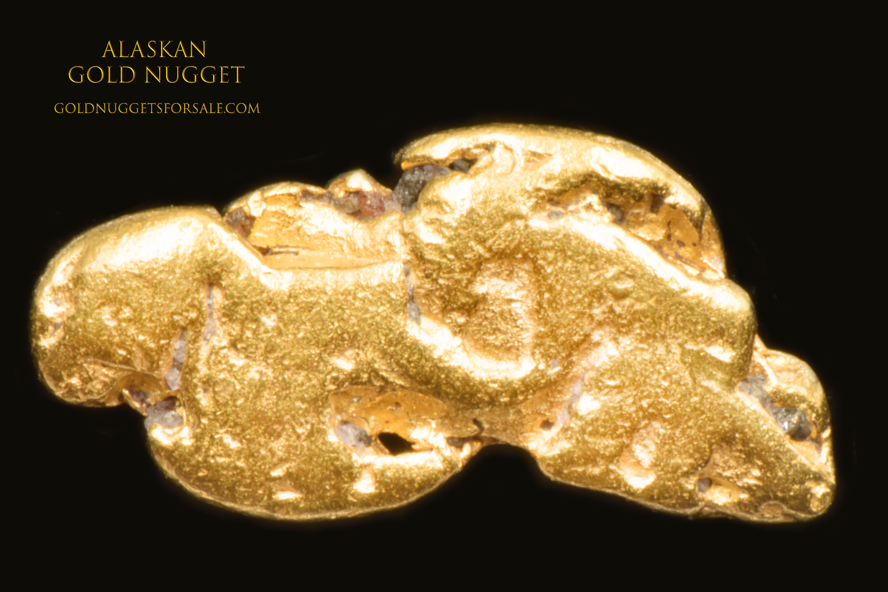 Native Alaskan Jewelry Grade Gold Nugget