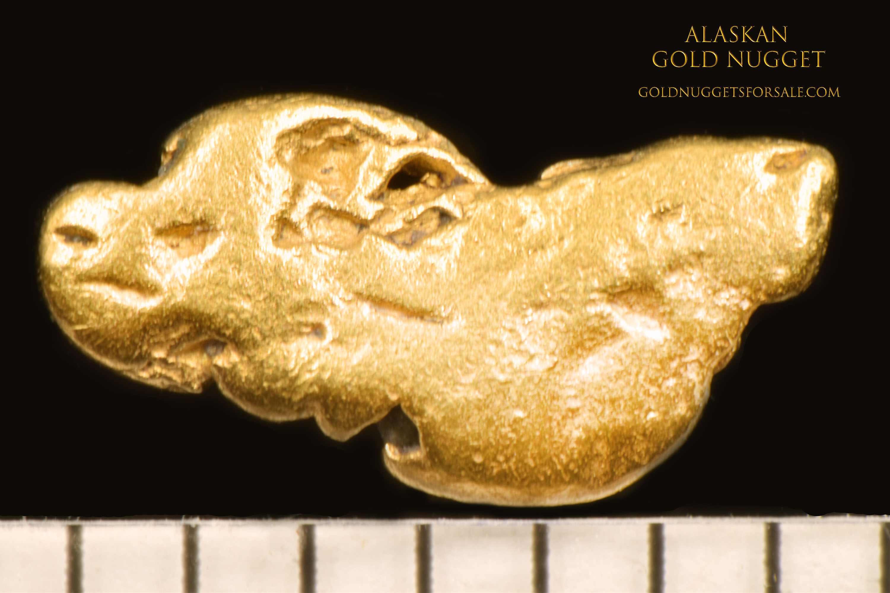 Native Alaskan Jewelry Grade Gold Nugget - Click Image to Close