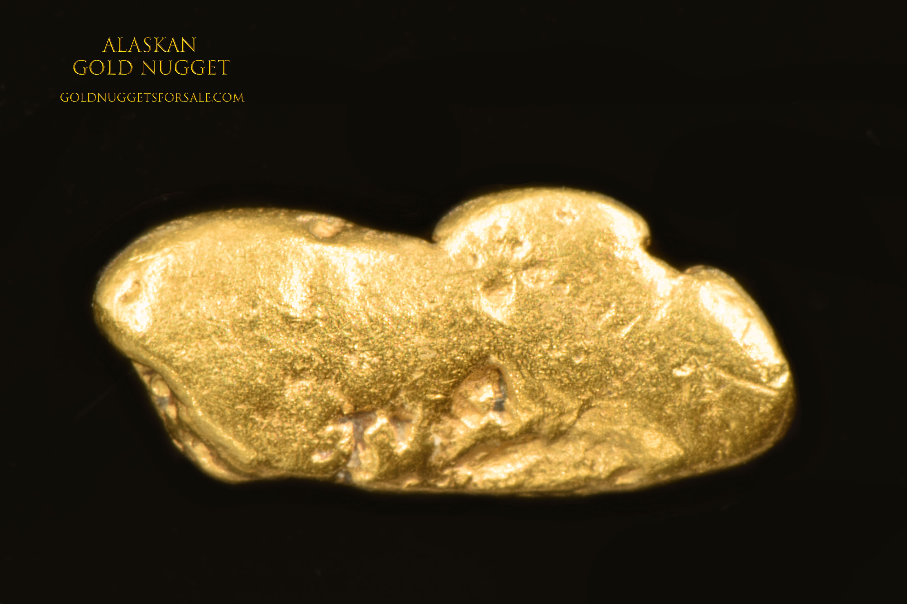 Jewelry Grade Alaskan Gold Nugget For Under $50.