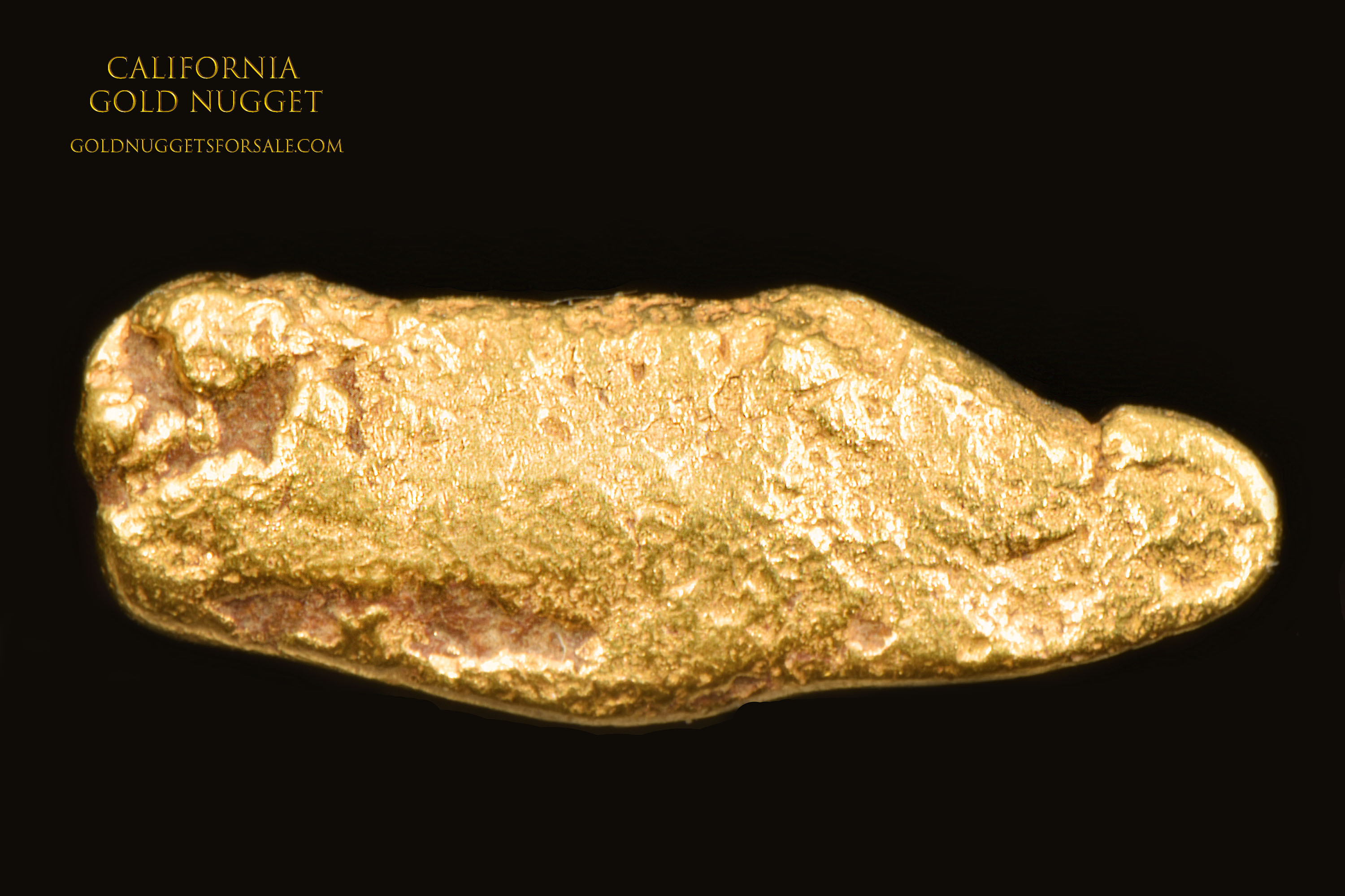 California Jewelry Grade Gold Nugget - Great Price
