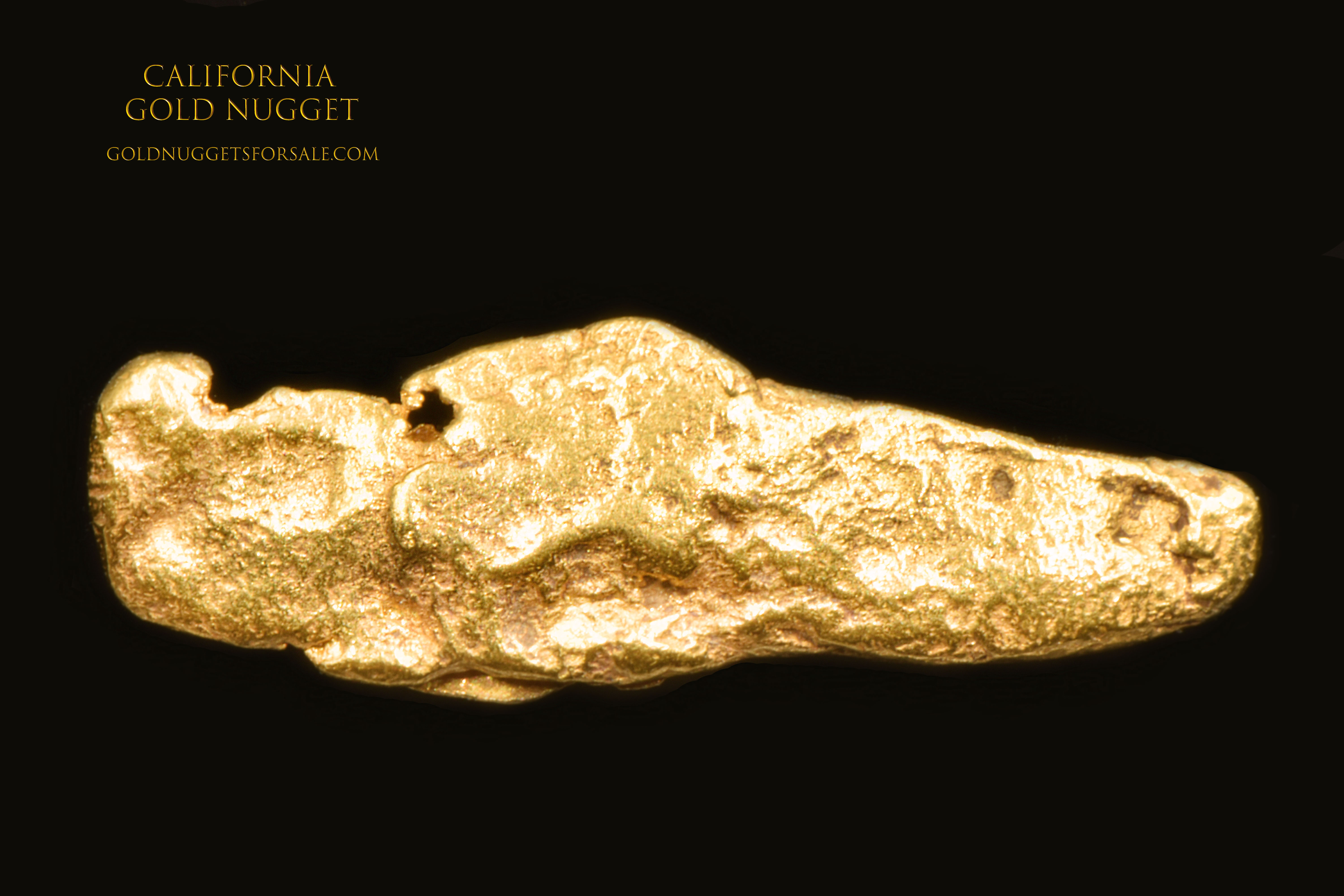 Native California -Jewelry Grade Gold Nugget
