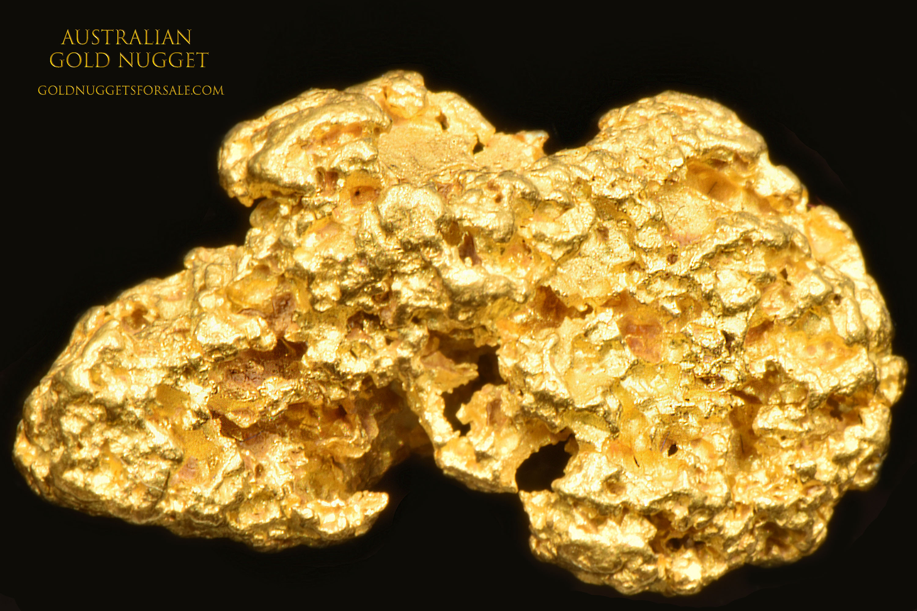 Crusty Texture - Jewelry Grade Australian Gold Nugget