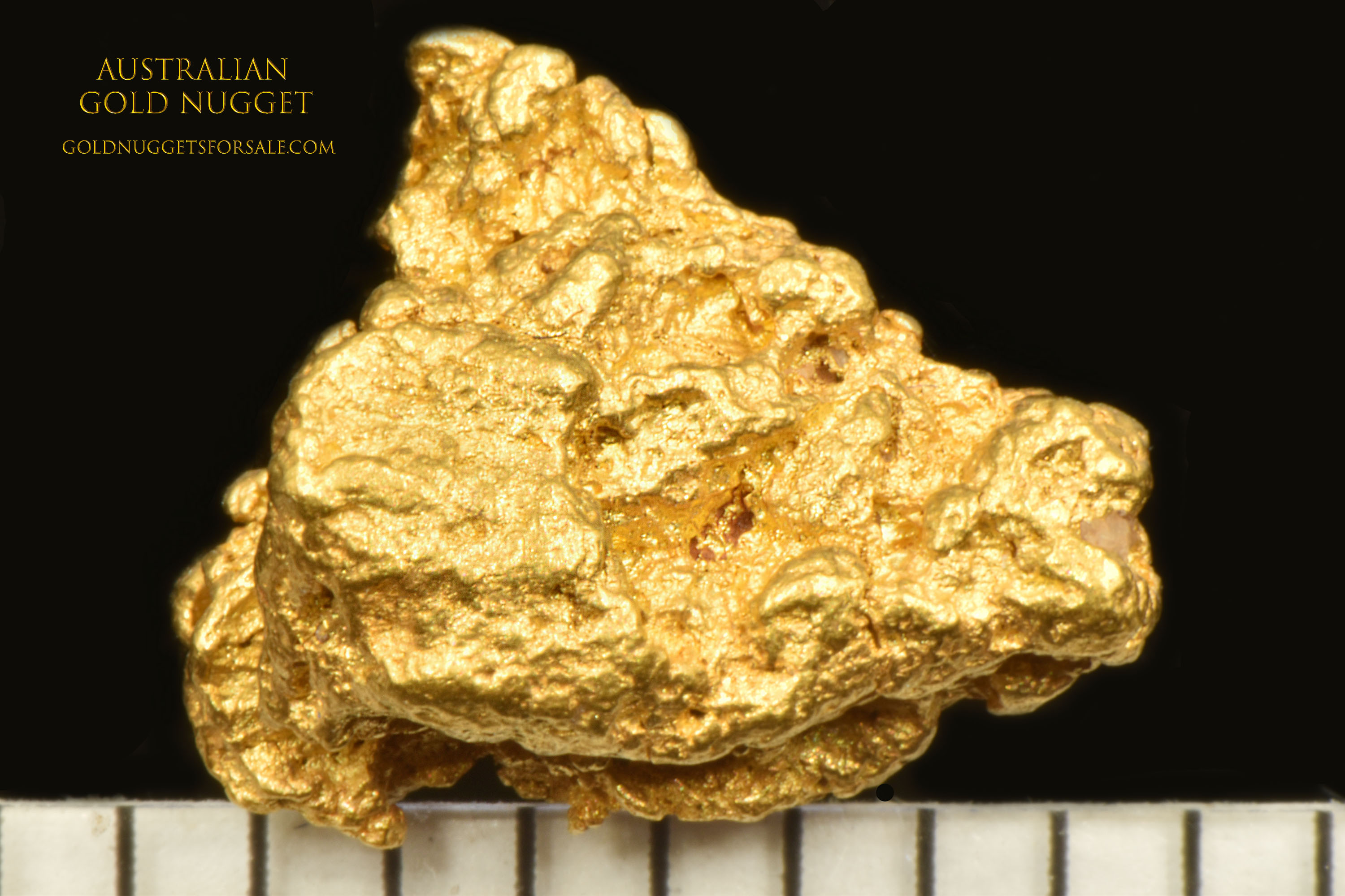 """Triangle"" Shaped Jewelry Grade Australian Gold Nugget"