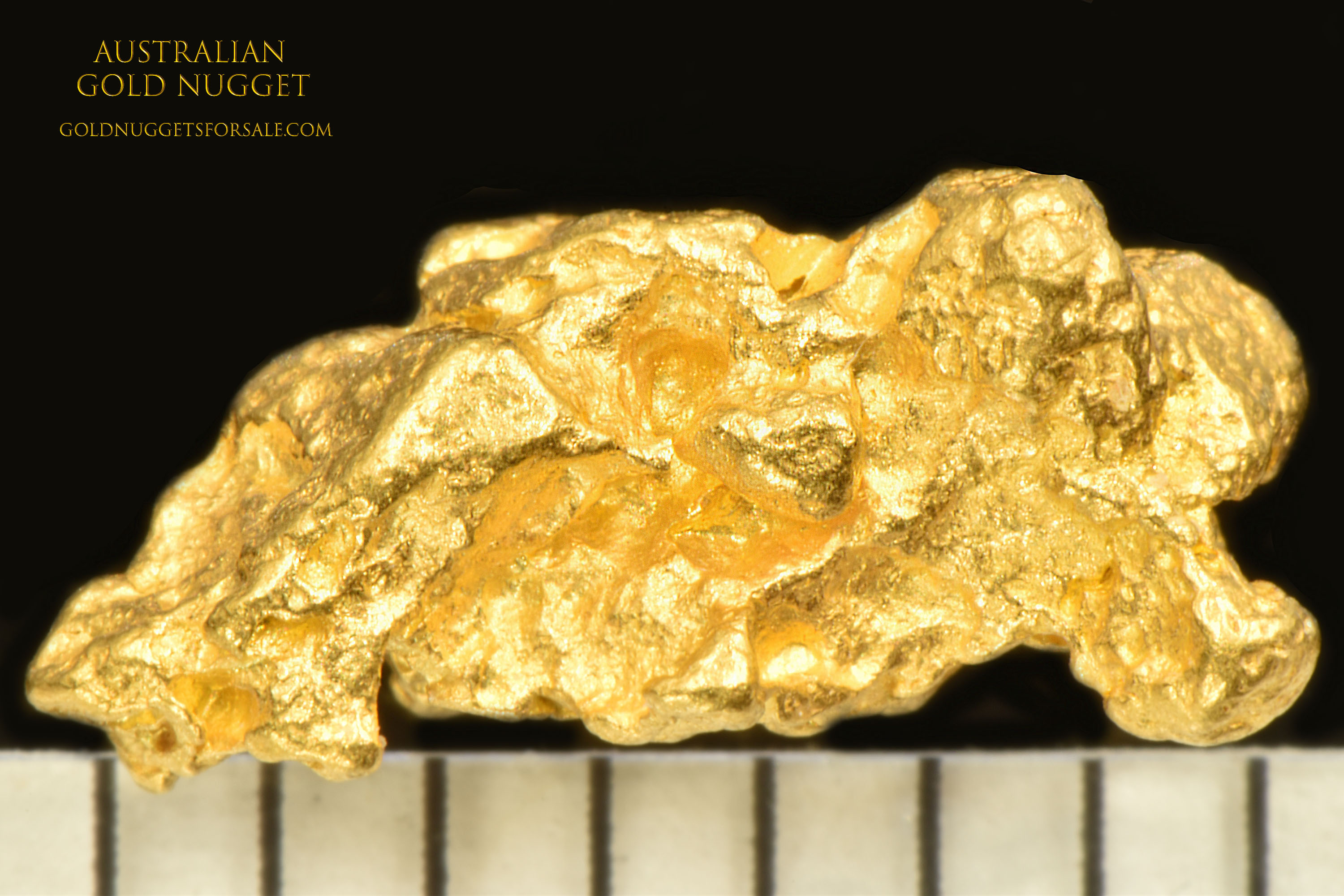 Faceted and Oblong - Jewelry/Investment Grade Gold Nugget
