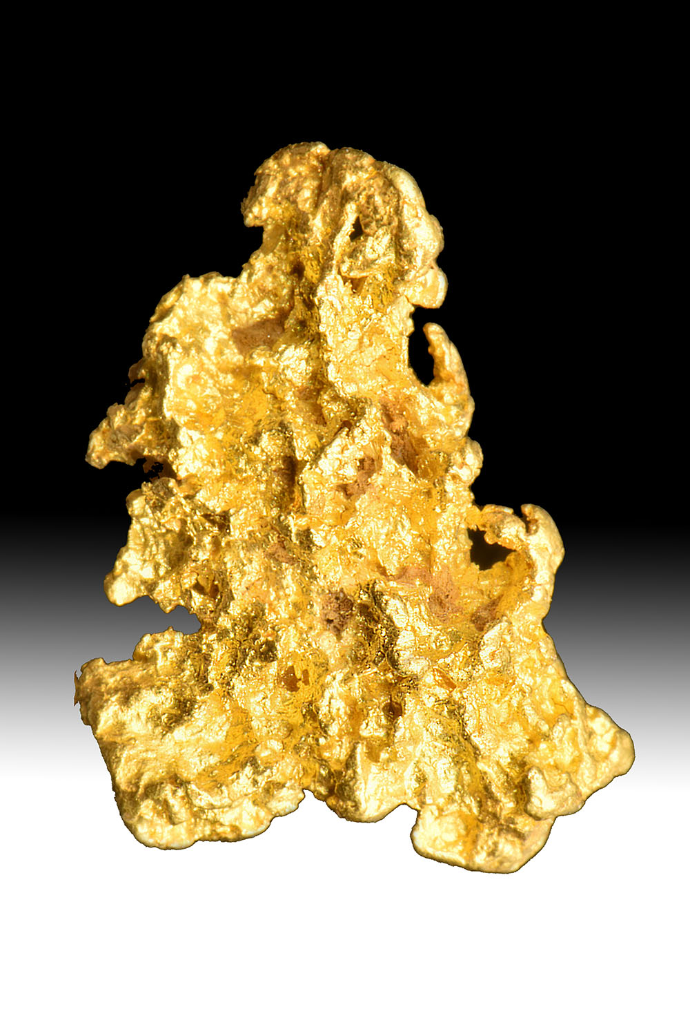 Gorgeous, Almost Crystalline Gold Nugget From Australia