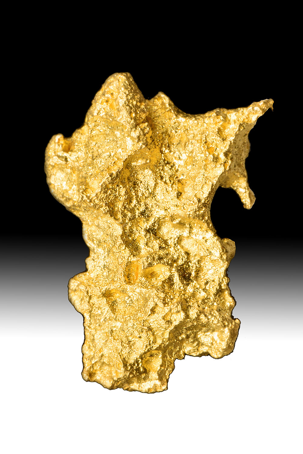 Rare Salt Lake - Sandstone Texture - High Purity Gold Nugget