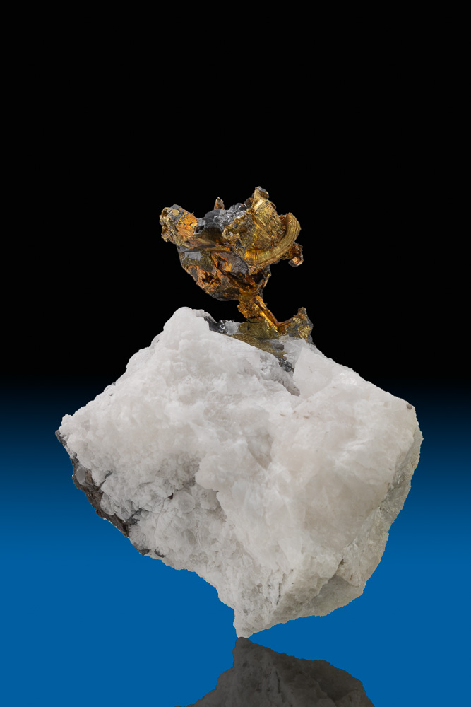 Extremely Rare - Silver, Gold and Quartz - Coeur d'Alene, Idaho