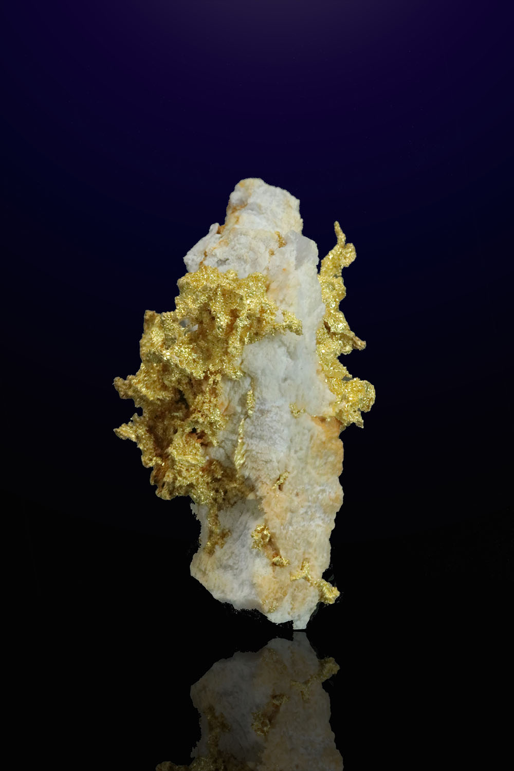 Gold in Quartz Specimen - GG Claims, California