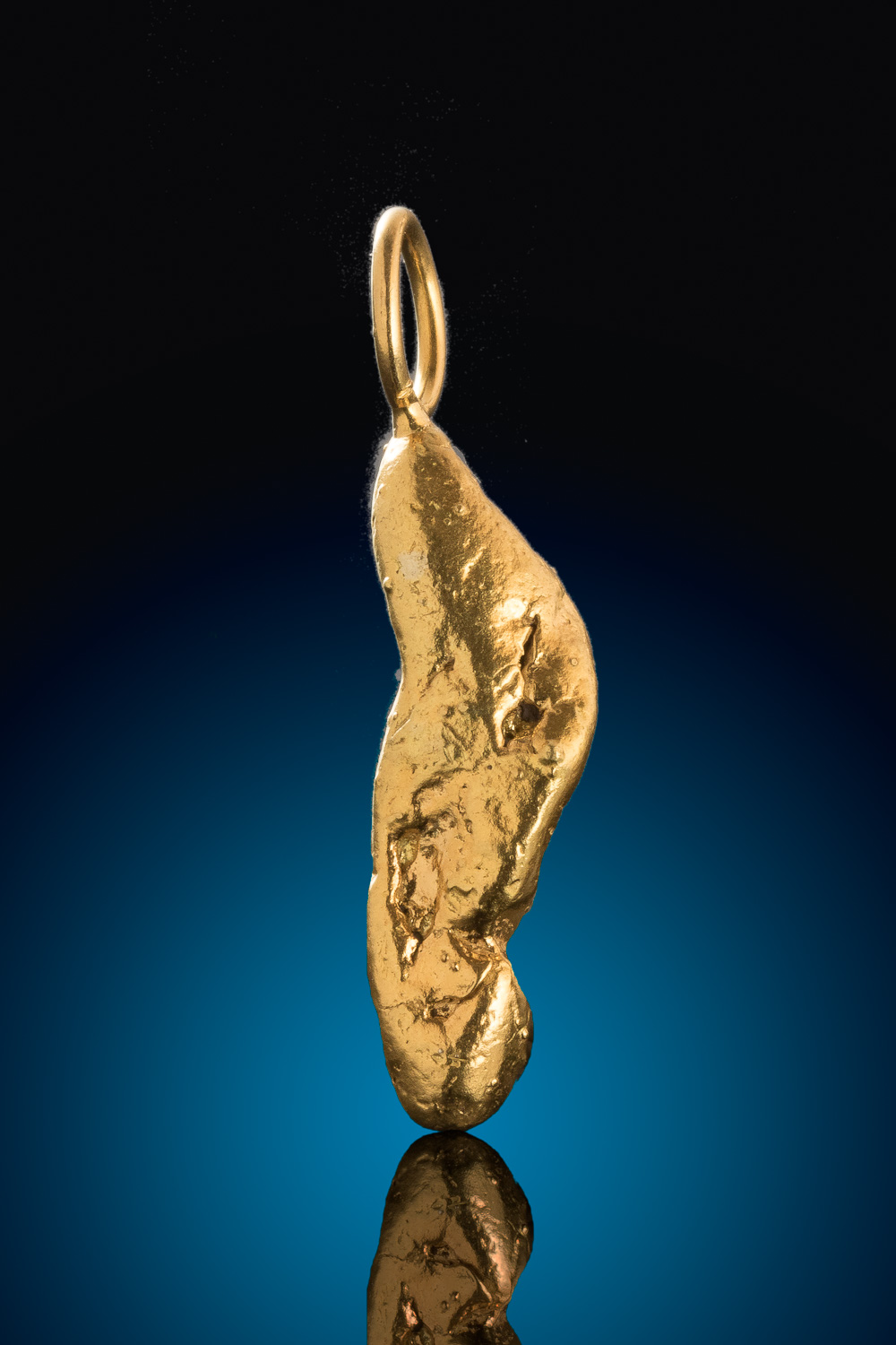 Mike's Choice - A Beautiful Natural Alaskan Gold Nugget Pendant