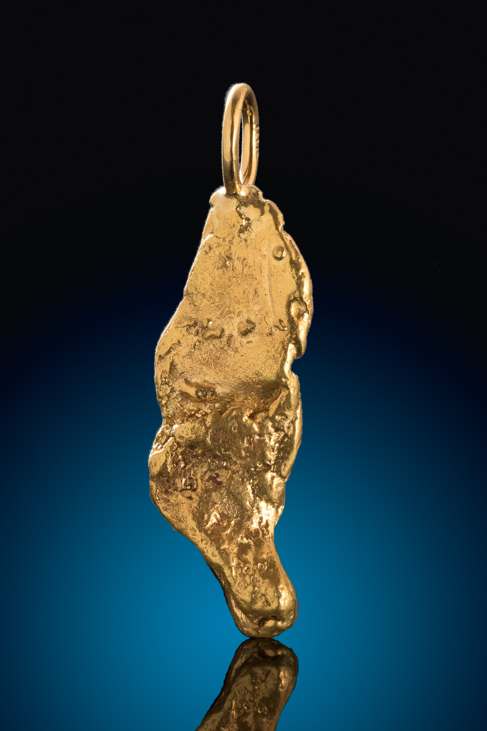 Mike's Choice for a Natural Gold Nugget Pendant - Alaska