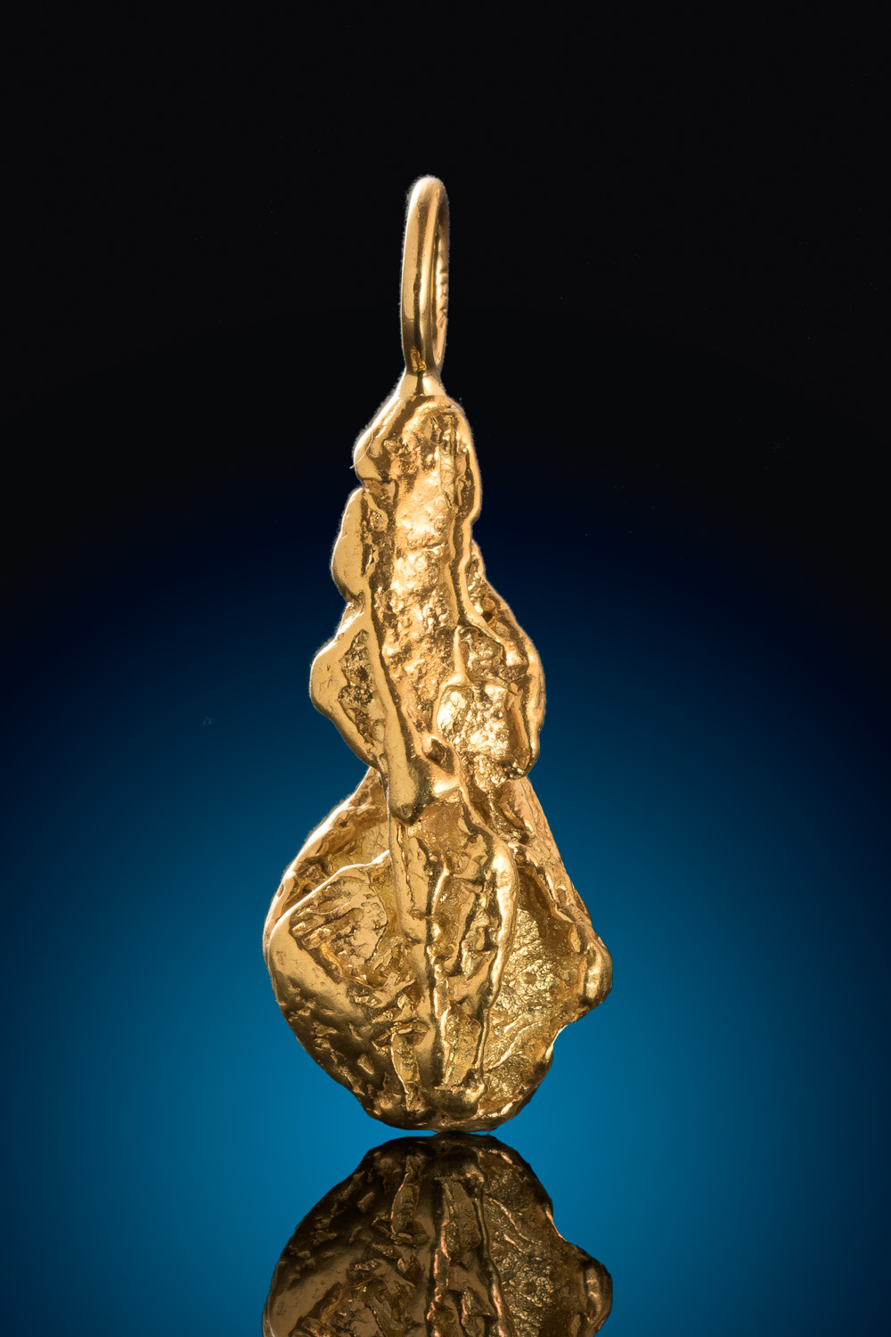 A Brilliant Gold Nugget Pendant - Mike's Choice from Alaska