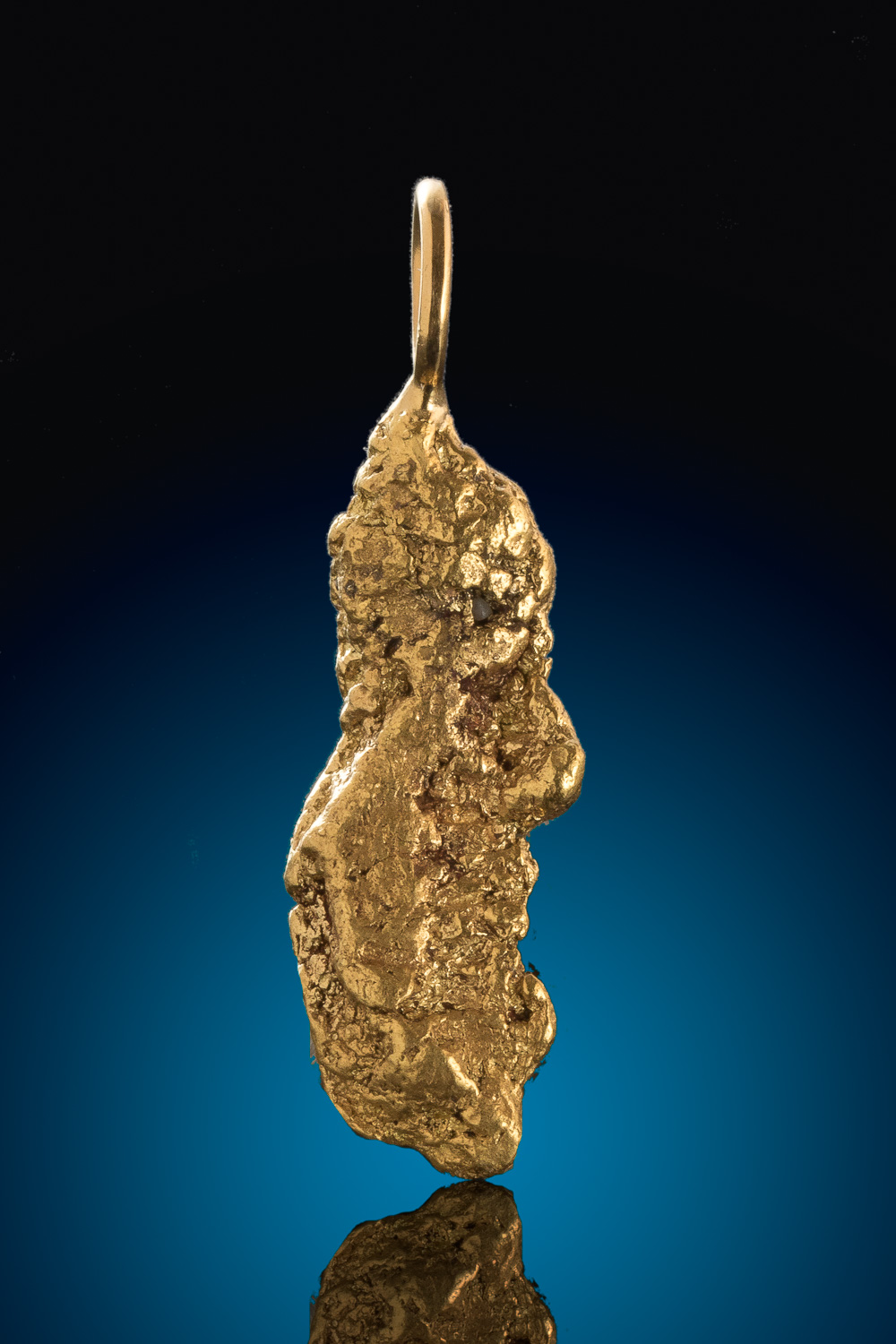 Mike's Choice - The Perfect Gold Nugget for a Pendant - Alaska