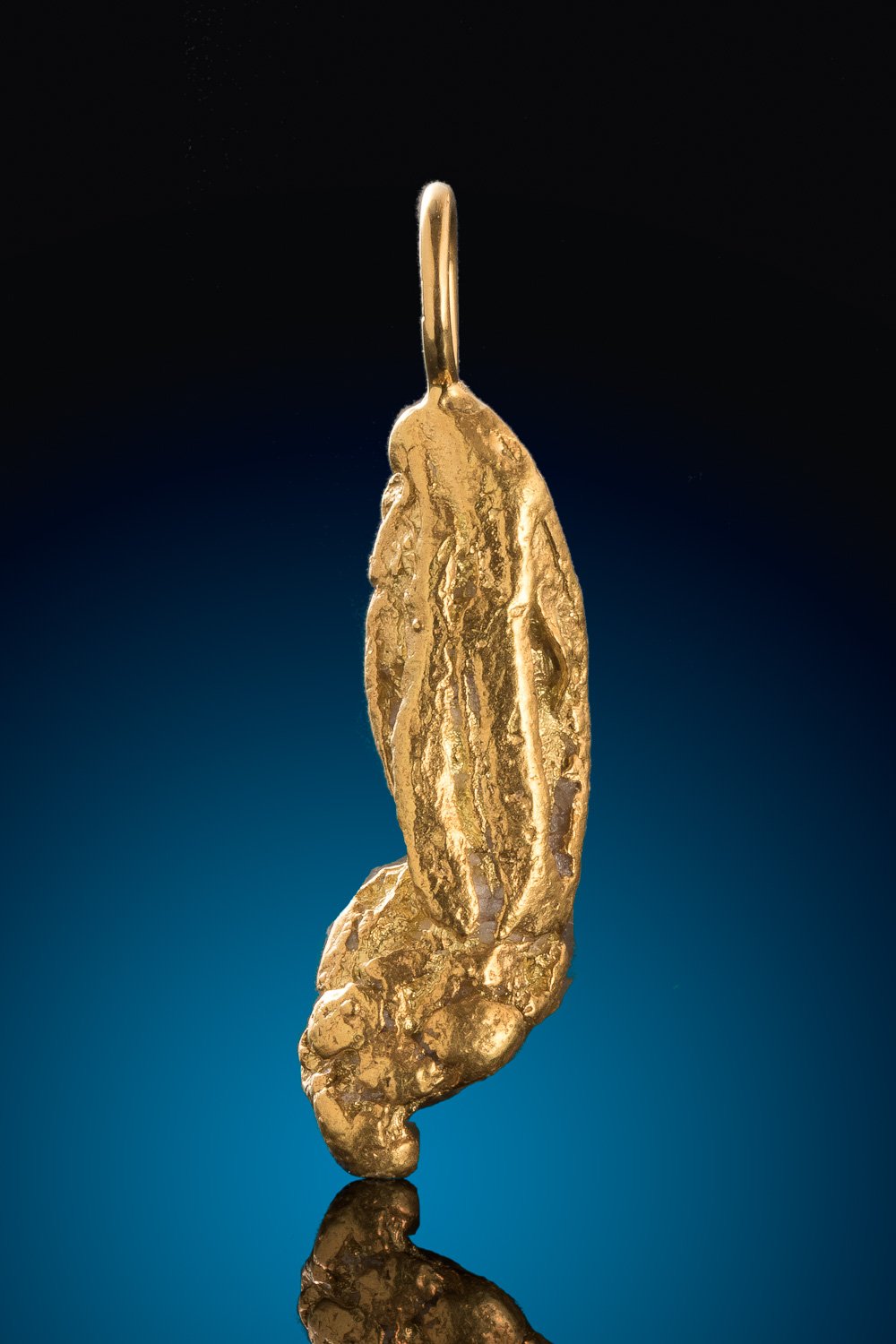 Mike's Choice for a Natural Alaskan Gold Nugget Pendant
