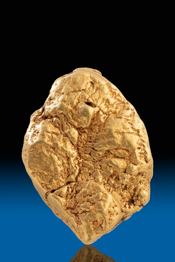 597.8 Gram Extremely Rare - Huge Gold Nugget from California
