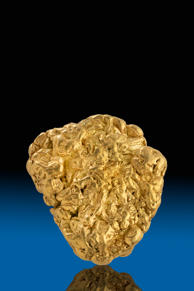 Magnificent Textured Natural Gold Yukon Nugget - 48.6 grams