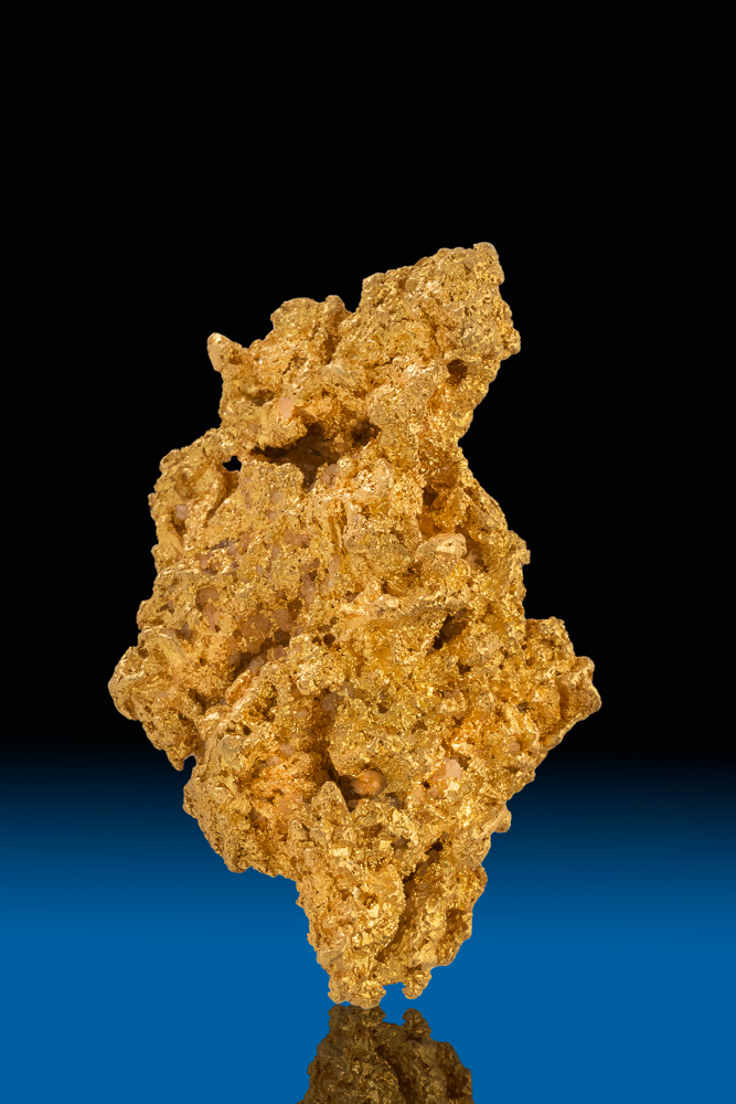 Brilliant and Rare - Yukon Crystalline Gold Nugget - 48.1 grams