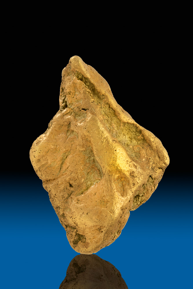 Thick Diamond Shaped Natural Yukon Gold Nugget - 112.8 grams
