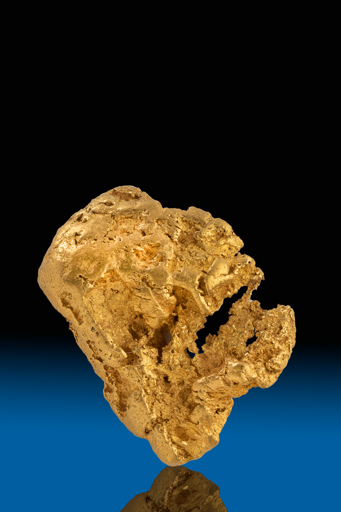 Crusty and Intricate Gold Nugget Sonora, Mexico - 44.8 grams