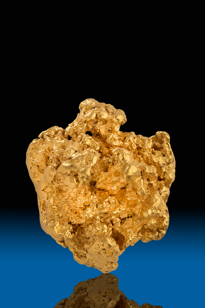 Thick and Chunky - Natural Australian Gold Nugget - 86.2 grams