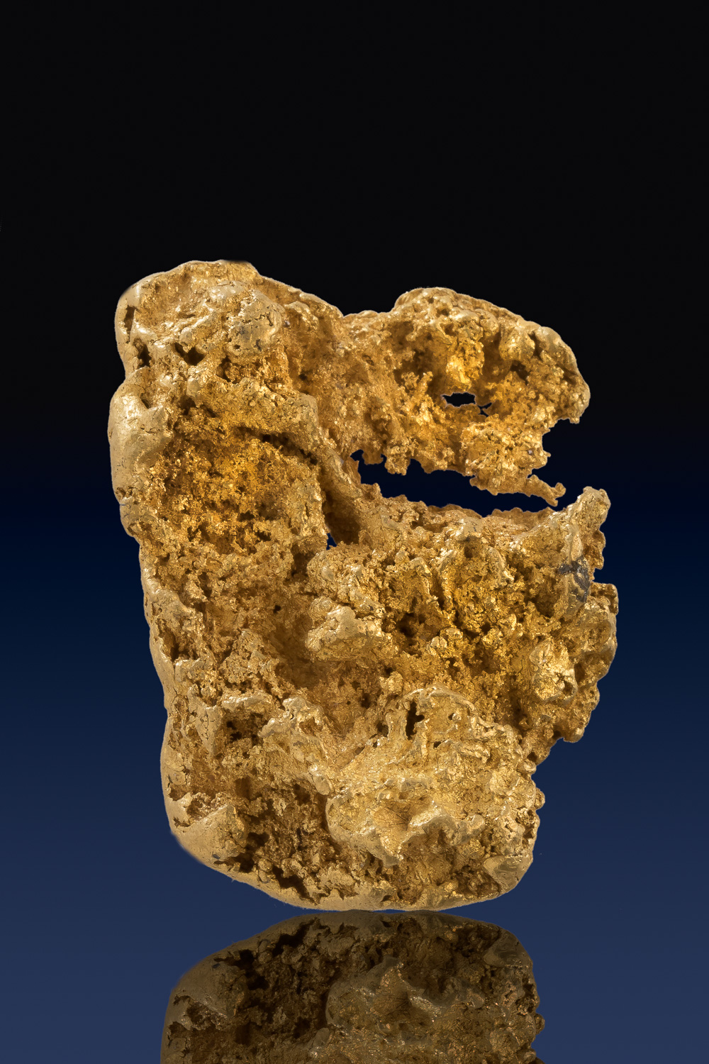 Crusty and Intricate Large Sonora, Mexico Gold Nugget