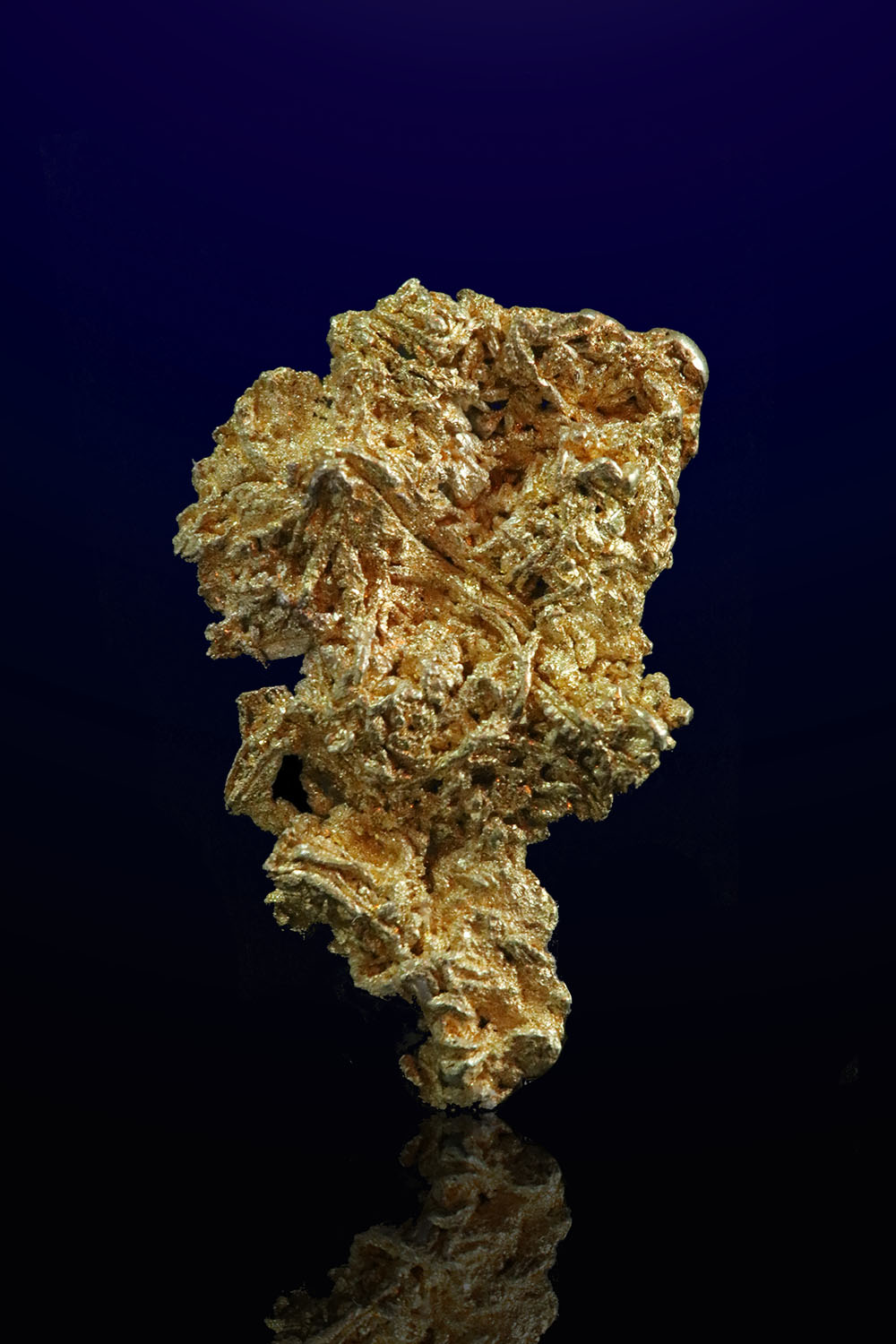 Brilliant Wire Gold Nugget - Liberty Gold Mine