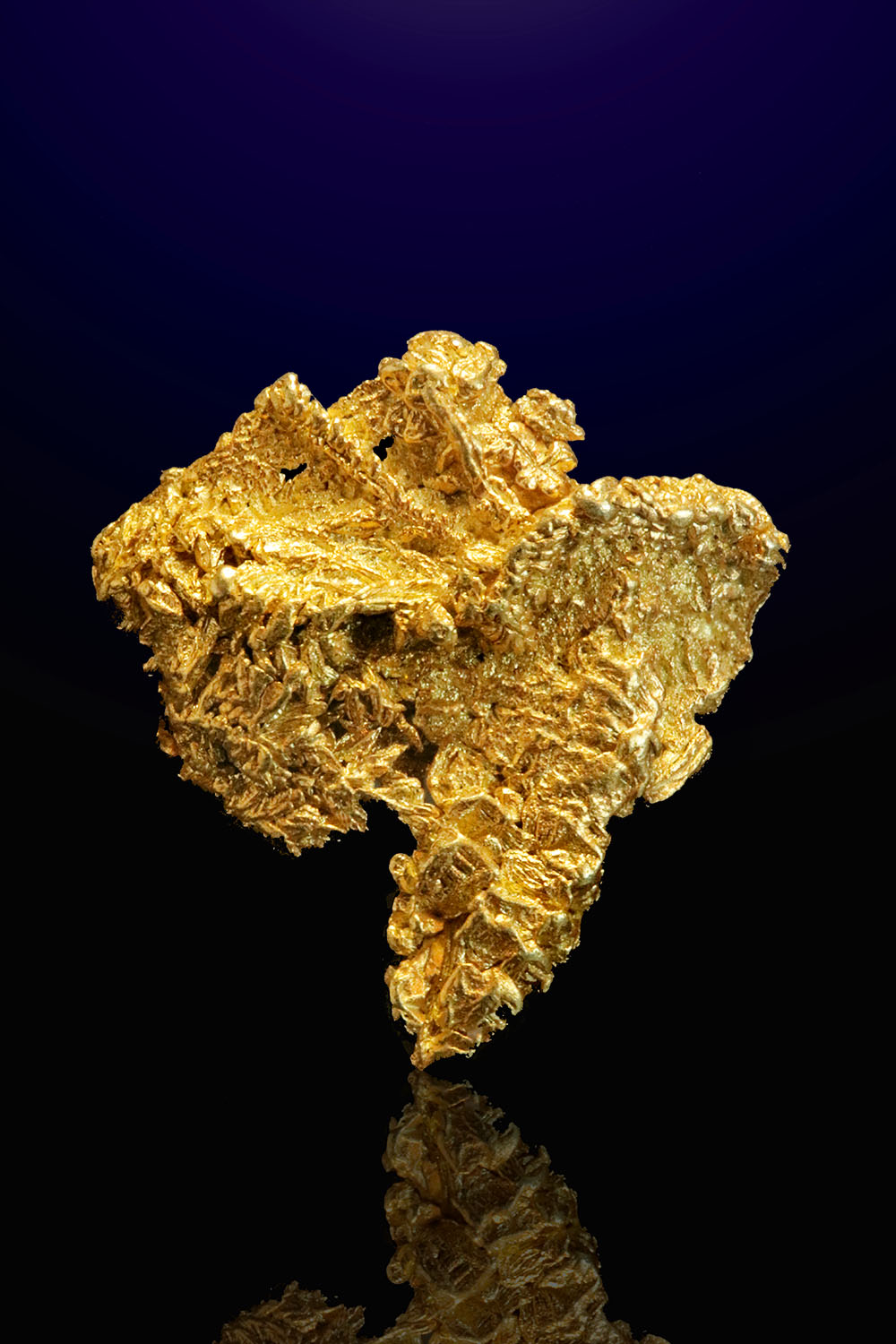 Liberty Gold Mine - Gold Wire Cluster Nugget