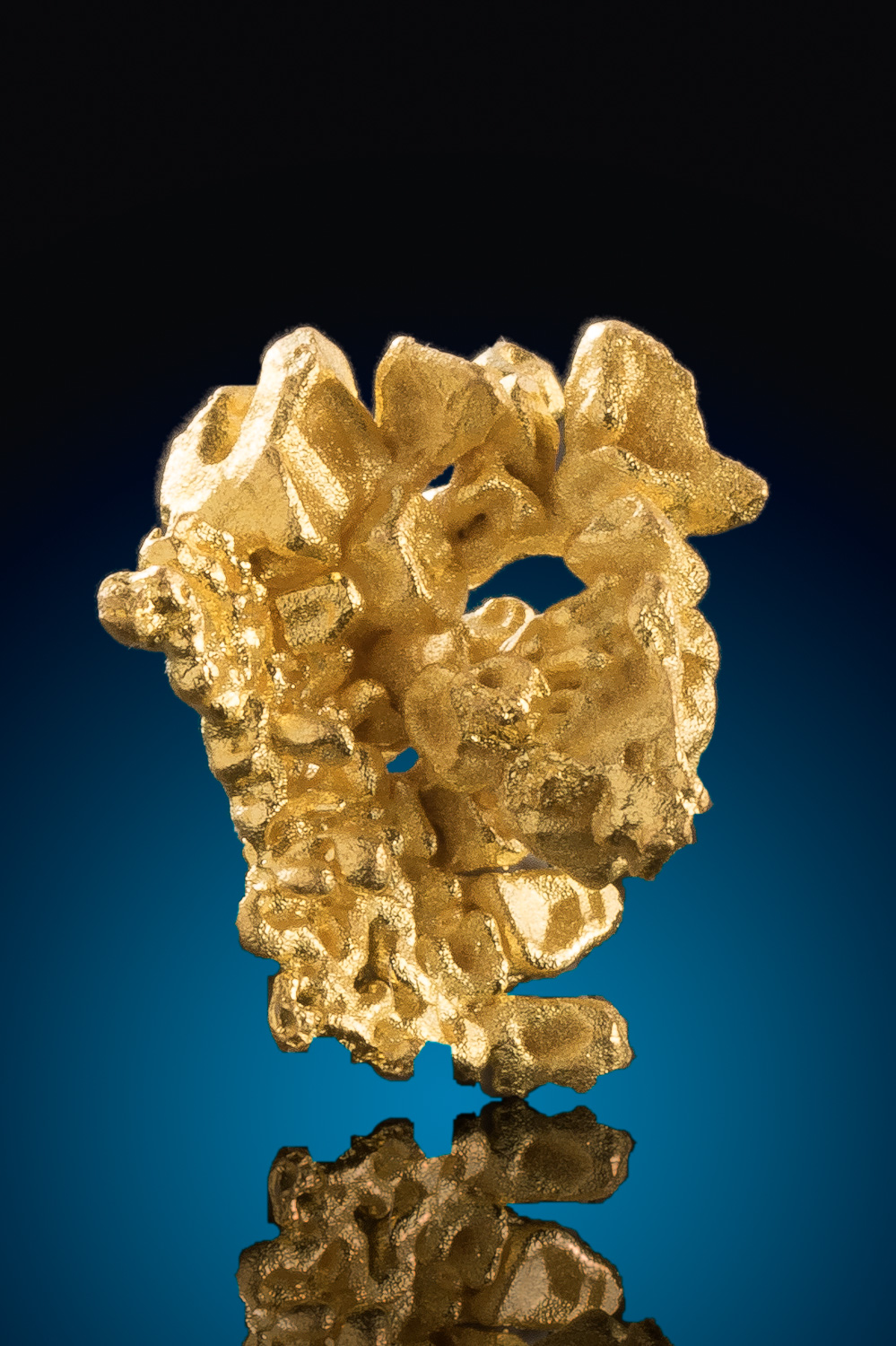 Thick and Intricate - Gold Crystal from the Artru Gold Mine