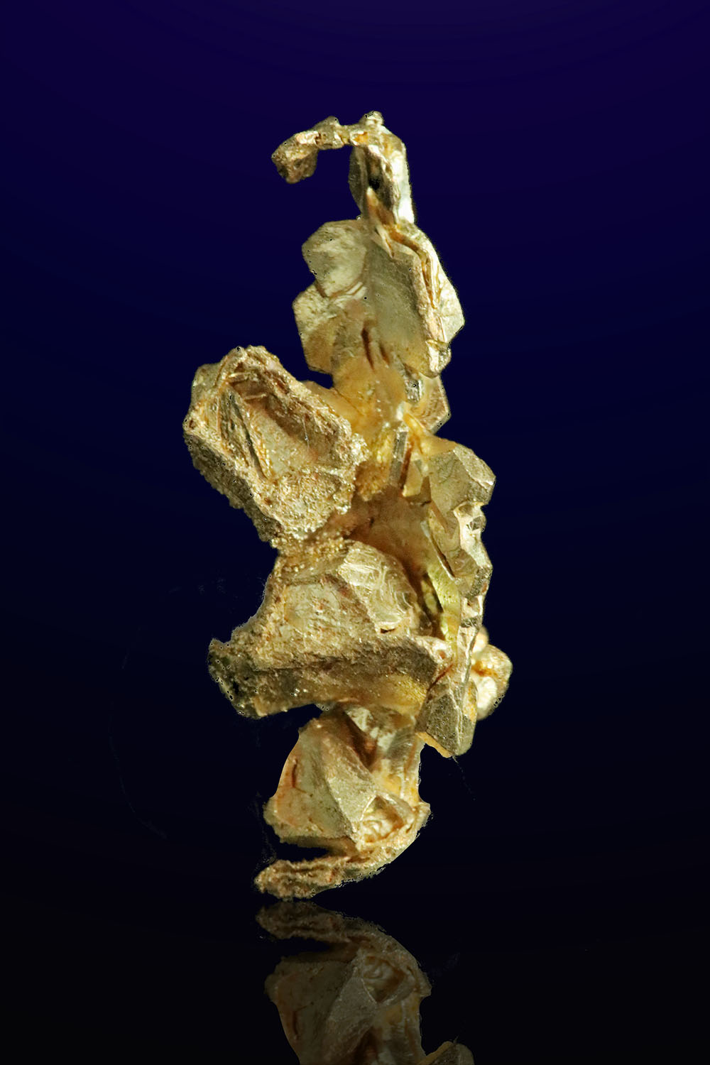 Long and Faceted - Natural Gold Crystal from Mt. Kare, PNG
