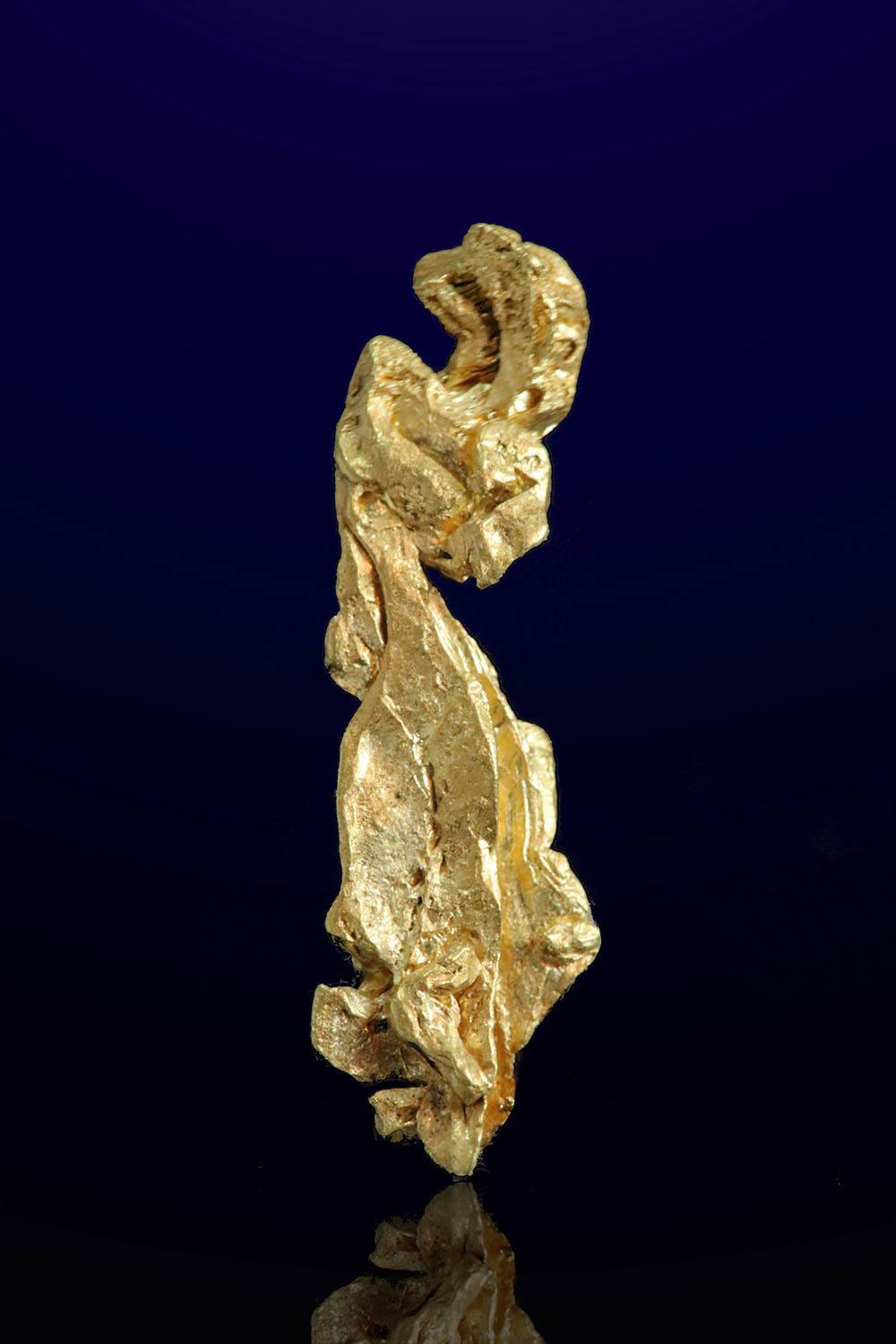 Elongated and Intricate- Natural Gold Crystal from Mt. Kare, PNG