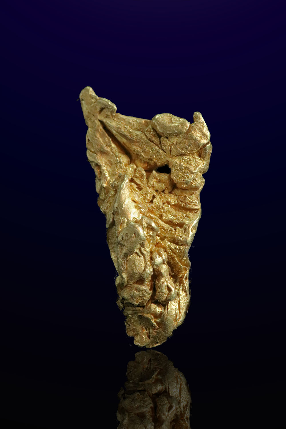 Remarkable Natural Gold Crystal - Mt. Kare, Papua New Guinea