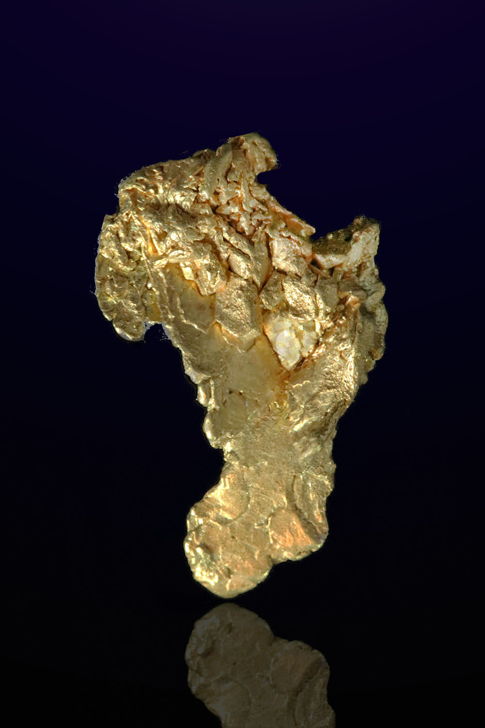Mt. Kare - Papua New Guinea - Tapered Gold Specimen
