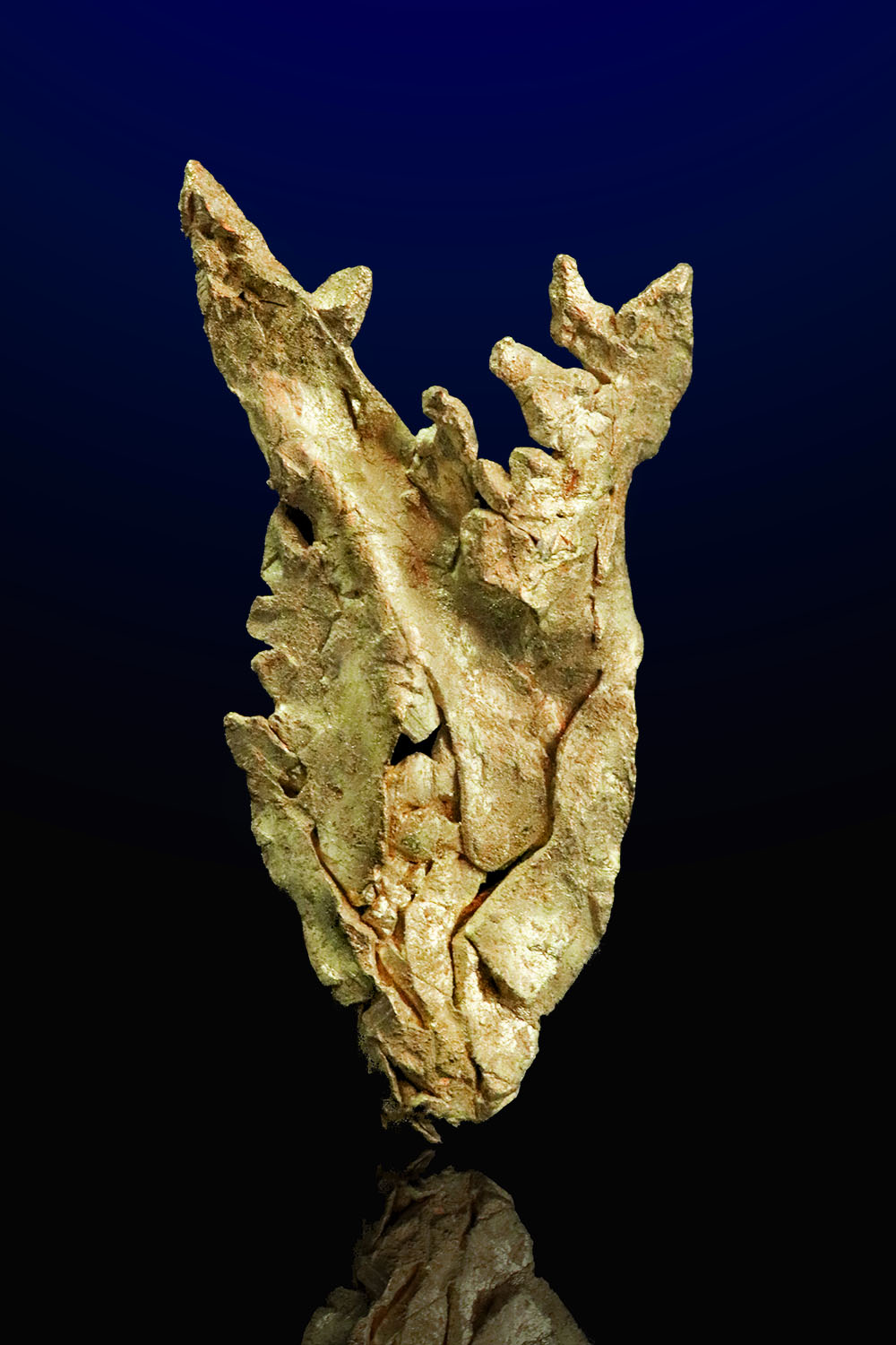 Mt. Kare - Papua New Guinea - Intricate Gold Specimen