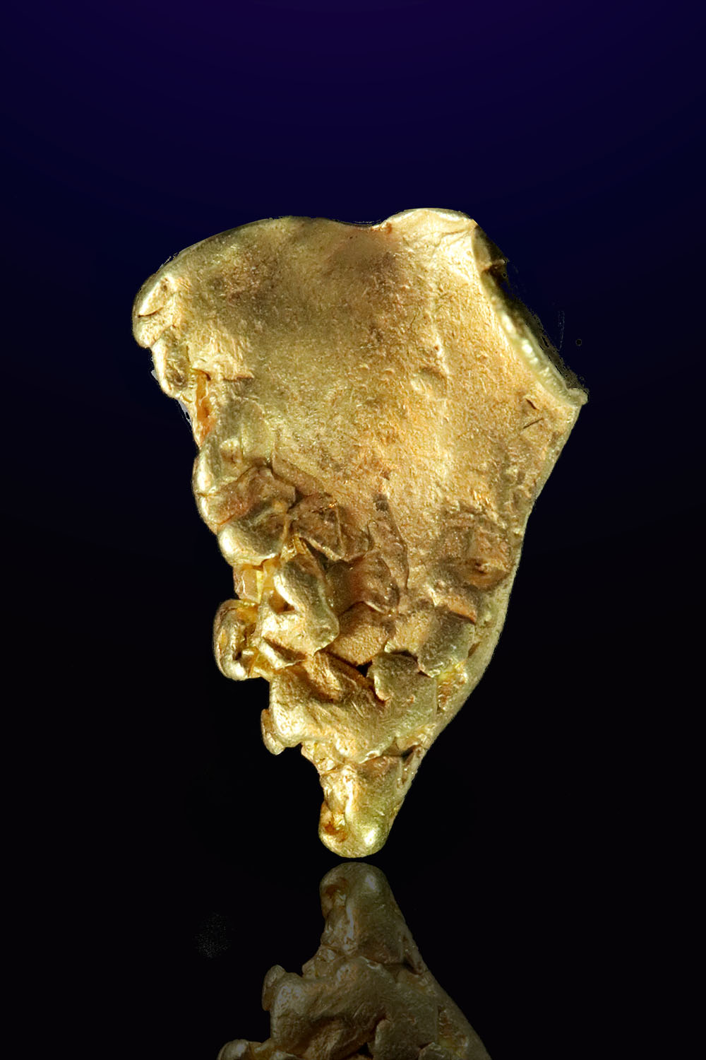 Natural Thick Leaf Gold - Mt. Kare, Papua New Guinea
