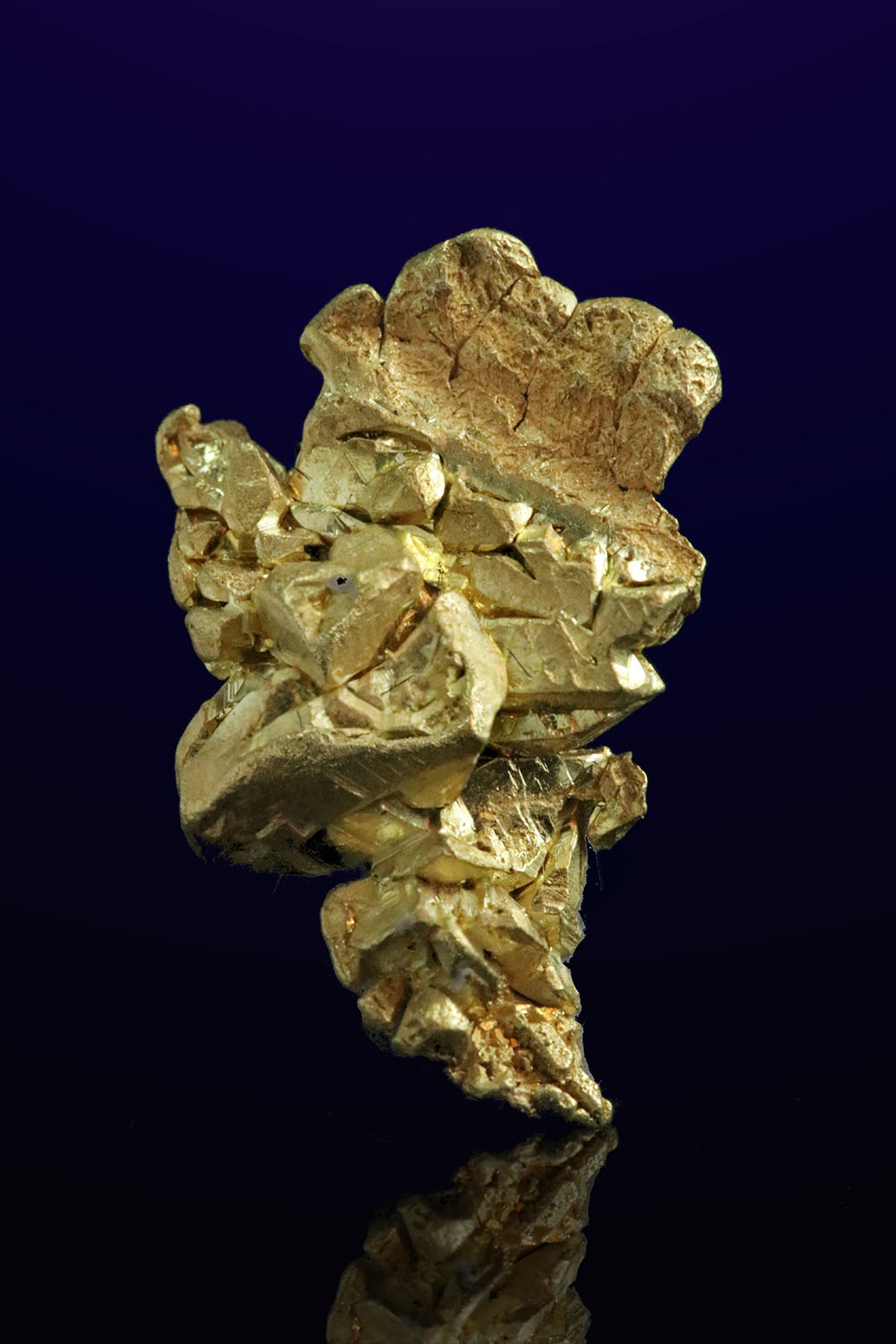 Fantastic Formation - Natural Gold Crystal from Mt. Kare, PNG