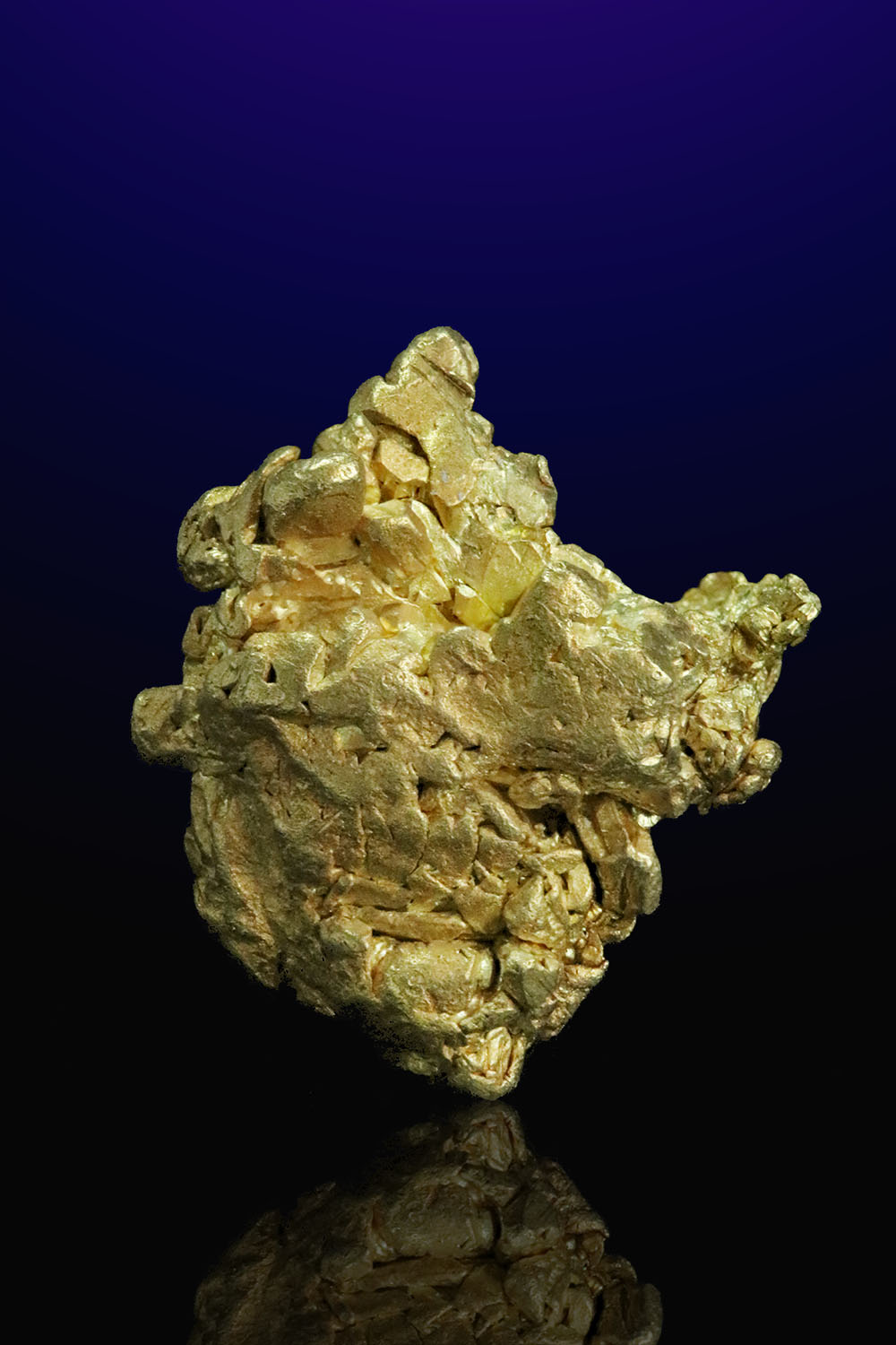 Hefty Gold Specimen from Mt. Kare, Papua New Guinea