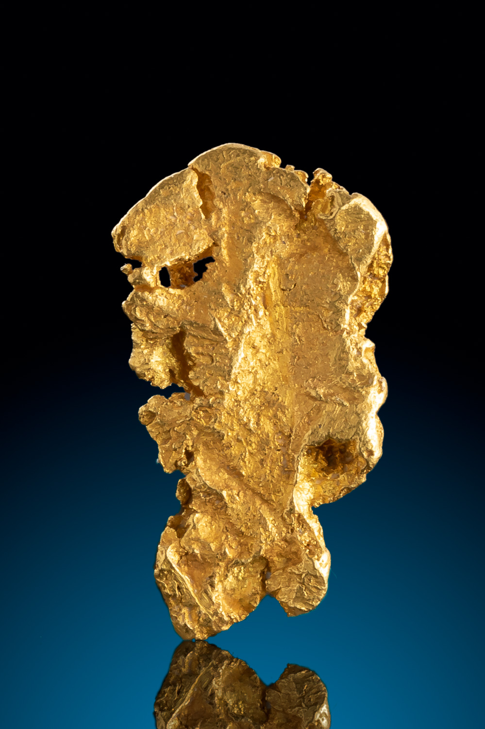 Thinner and Unique - Natural Alaska Gold Nugget