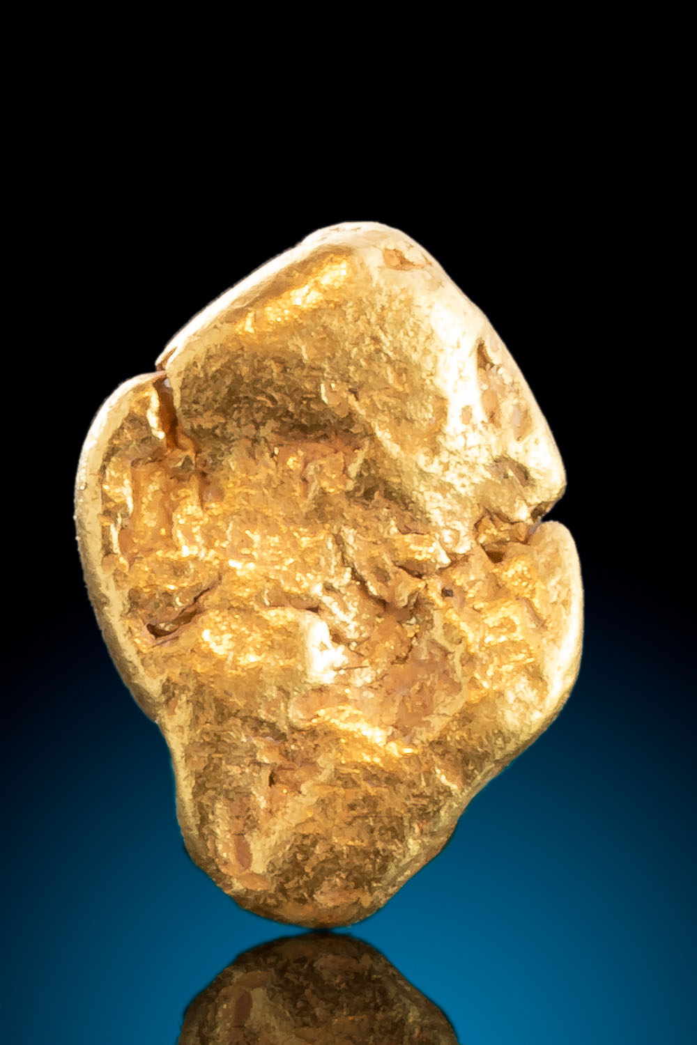 Natural River Worn Alaskan Gold Nugget