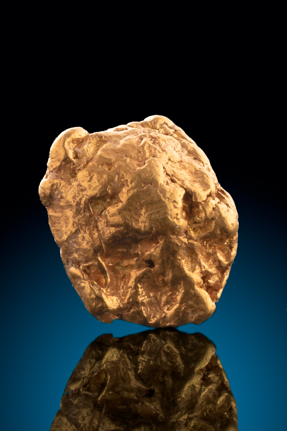 Beautiful Clean Gold Nugget from Alaska - Tintina Gold Belt