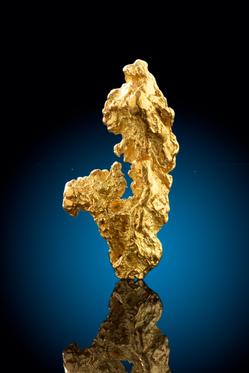 Unique Crusty Natural Gold Nugget from Alaska