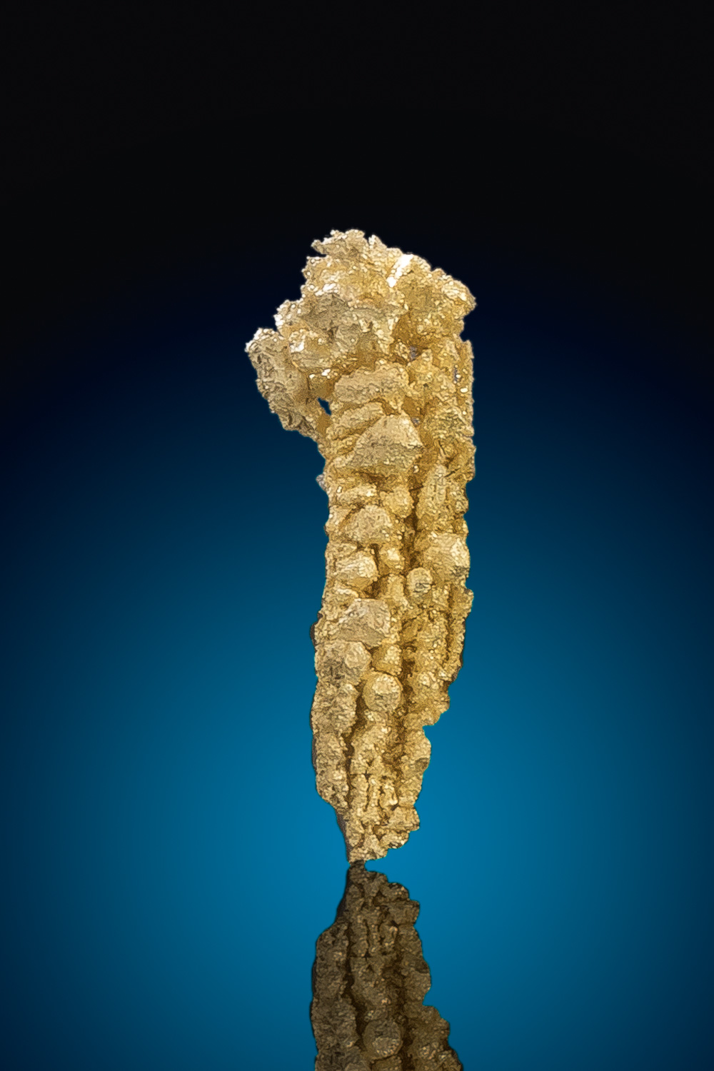 Sharp and Tapered Gold Nugget Crystal - Nevada