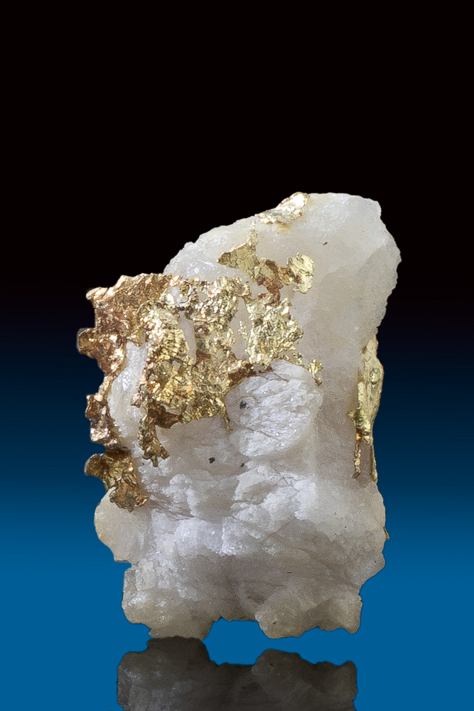 Beautiful Rare Tapered Gold in Quartz from Allegheny