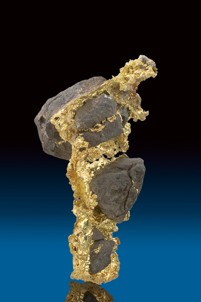 Rare Crystallized Gold and Arsenopyrite from California