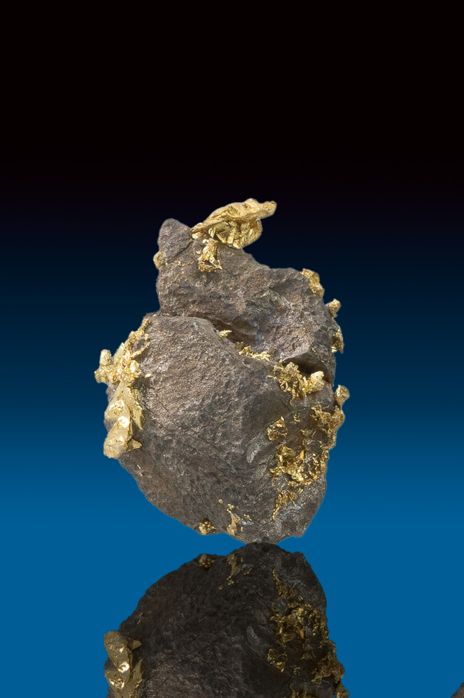 Sharp Crystallized Gold with Arsenopyrite from Allegheny