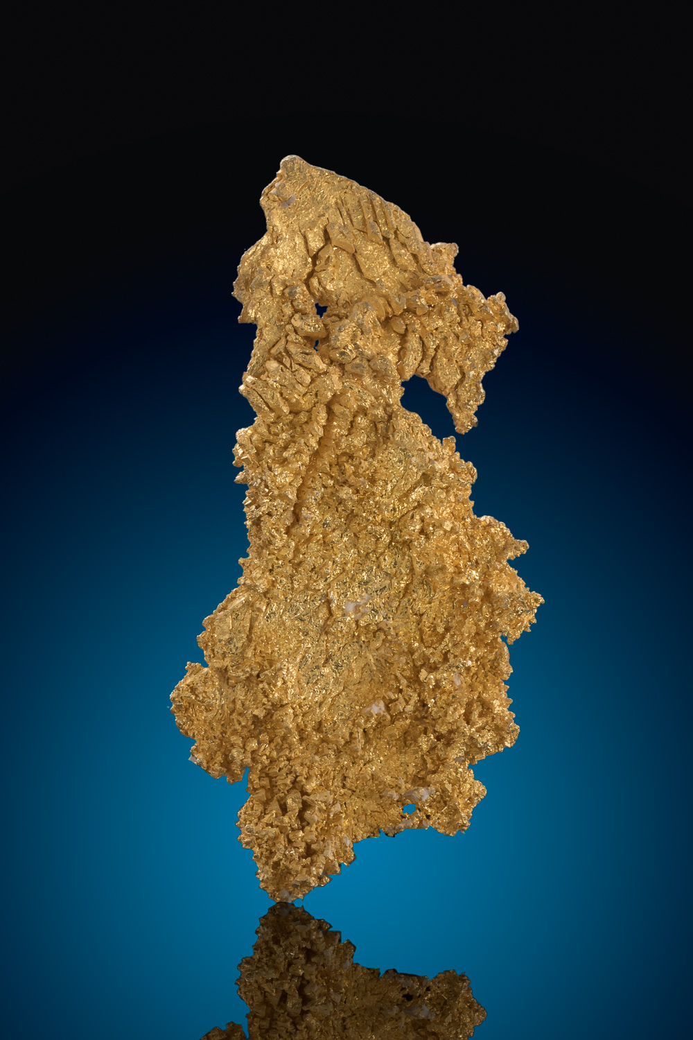 Bright Buttery Gold - Well Crystalized Natural Gold Specimen