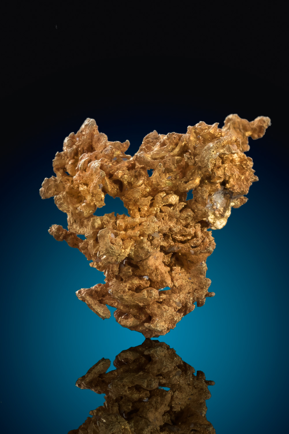 Belshazzar Mine - Boise County, Idaho - Wire Gold Cluster