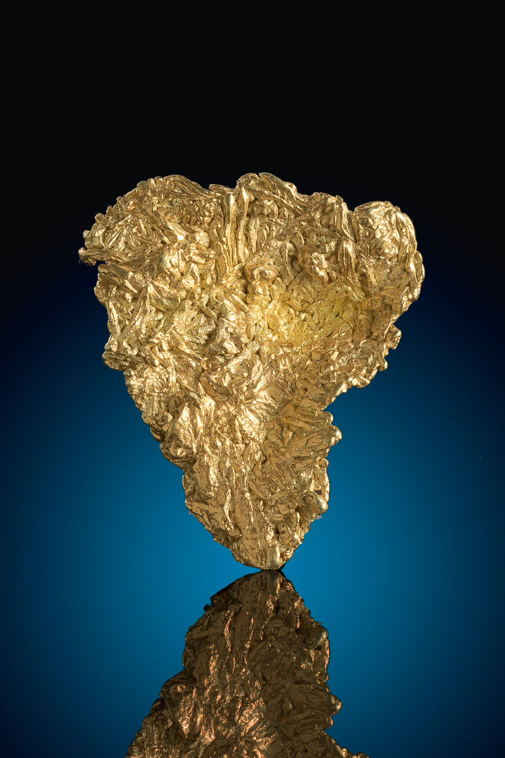 Liberty Gold Mine - Wire Cluster Specimen