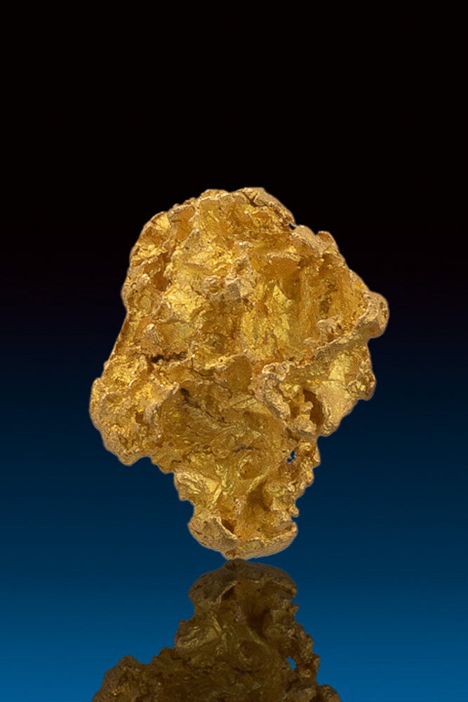 Beautiful and Chunky - Natural Gold Nugget from Nevada