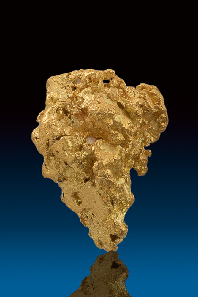 Super Chunky with Quartz - Natural Gold Nugget from Nevada