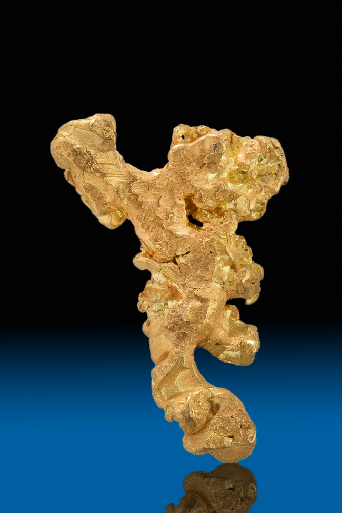 Unique Gold Nugget Specimen - Mt. Kare, Papua New Guinea